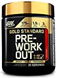 Optimum Nutrition Gold Standard Pre-Workout 30 Serve Supplement, Fruit Punch, 300 Gram by Optimum Nutrition