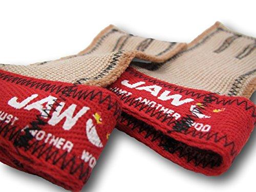 JAW Klemmbacke Dropdown?Grip-Griffe für die # 1, Top Verkauf von hand, rot/schwarz (Aktuelle Heimtrainer)