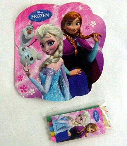 Frozen Congelado Troquelado Conjunto De Libros Para Colorear