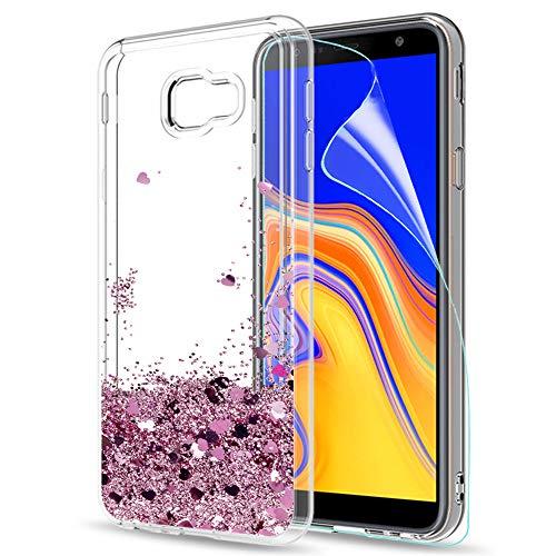 LeYi Compatible with Funda Samsung Galaxy J4 Plus