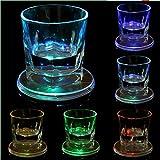 Bazaar LED-Untersetzer mit variabler Lichtfarbe und Farbwechsel, Geschirr
