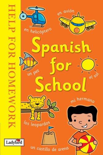 Spanish for school