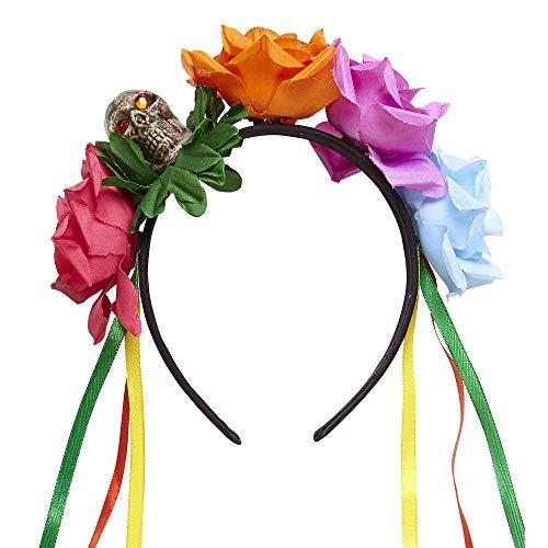Widmann - Haarreif mit Rosen und Bändern