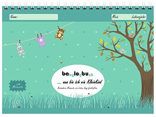 babylogbuch - nun bin ich ein Kleinkind - Tagebuch für 24 Monate