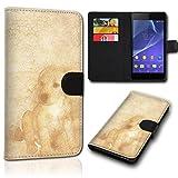 Book Style Alcatel One Touch Go Play 7048X Tasche Flip Brieftasche Handy Hülle Kartenfächer für Alcatel One Touch Go Play 7048X - Design Flip SVH151