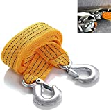 AAJ Heavy Duty Towing Belt up to 5 Tonne, 3.5 Meter Length (Comes in zipped carry case with handle)