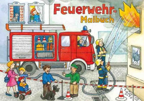 Preisvergleich Produktbild Malbuch : Feuerwehr(A5)