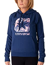 Converse Graphic Boxstar Pullover Hoodie–Men, Women, Blue (Navy)