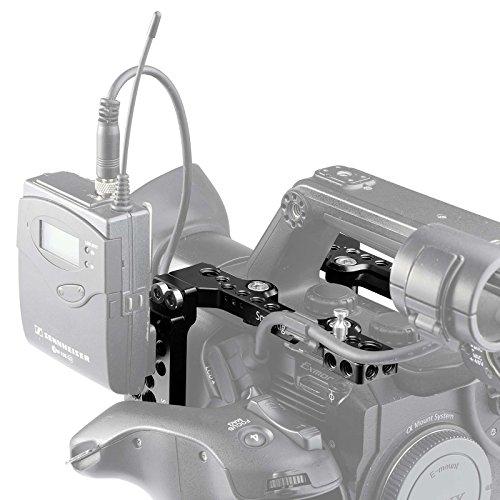 SMALLRIG Montageplatte Kit für Sony PXW-FS5 Camcorder (2 Deckplatten mit 1 Seitenplatte) - 1843