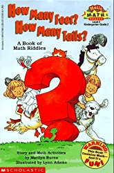 How Many Feet? How Many Tails?: A Book of Math Riddles (Hello Reader! Math Level 2)
