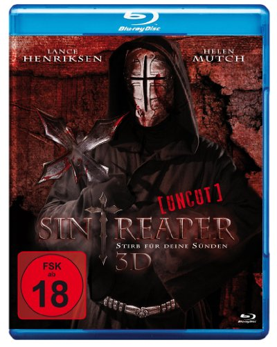 Sin Reaper 3D blu-ray inkl. Bonusmaterial: Deleted Scenes / Halloween Special: Behind the scenes von und mit Hanno Friedrich / Trailer