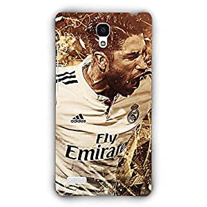 EYP Real Madrid Sergio Ramos Back Cover Case for Xiaomi Redmi Note 4G