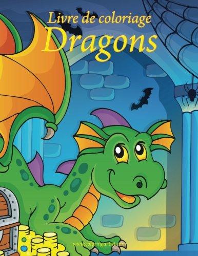 Livre de coloriage Dragons 1 (Halloween Coloriage Horreur)