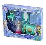 Rappa Zauberhaftes Set mit Mini Eiskönigin und königlichem Mobiliar - 7 Teile