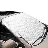 SUAIBEI Auto Windschutzscheibe Sun Shade UV Cover Protector Halten Sie Auto Cool Windschutzscheibe Staubschutz Frost Schnee Eisdecke in Allen Wetter Large
