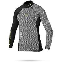 Magic Marine Herren Lycra Langarm Shirt Energy Rash Vest Funktionsshirt 32d83011b3