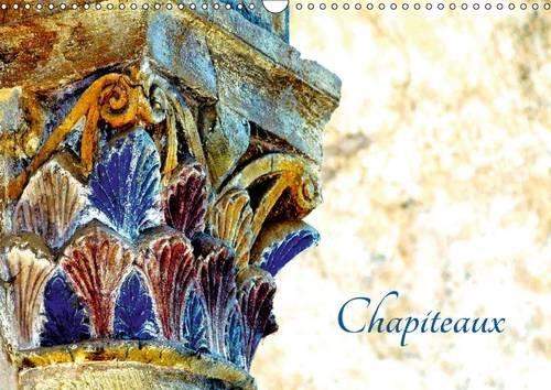 Chapiteaux : Chapiteaux de l'abbatiale de Conques. Calendrier mural A3 horizontal par Patrice Thebault