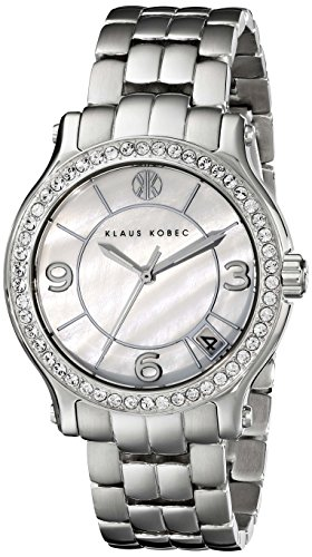 Klaus Kobec Women's KK-10019-11 Venes Analog Display Japanese Quartz Silver Watch
