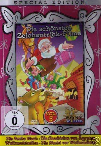 Preisvergleich Produktbild Die schönsten Zeichentrick-Filme - Vol.5 (DVD)