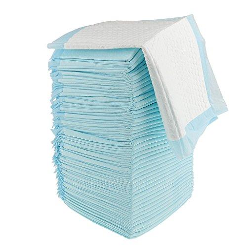 Sharplace Inkontinenzunterlagen, Einwegunterlagen, Inkontinenzauflagen - Blau, 50 Stück 45x33cm