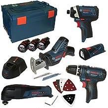 Bosch - Kit 10,8 v-li (5 herramientas)