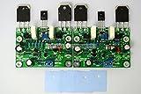 Q-BAIHE DIY NAP250 MOD Stereo Channel 2 PCS Amplificateur de puissance Table finale
