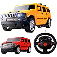 Amazemarket 19.5cm Baby Kids Exquisite Simulation Toy Ornaments Jeep SUV Car Model 1:18 Scale Radio Control 4 Channels Full Function Remote Control RC Growing Friends (ramdom color) - Compare prices on radiocontrollers.eu