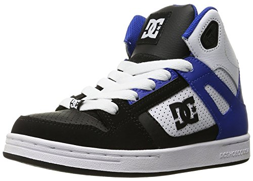 DC REBOUND LE ADBS100014B-WE9, Jungen Sneaker Black/White/Blue