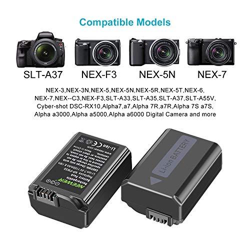 Cámara de batería cargador dual para Sony Alpha 7s
