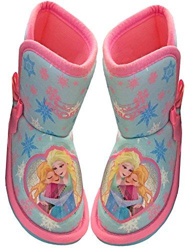 Disney Mädchen Frozen Anna&Elsa Schneeflocken Bootie Stiefel (25)