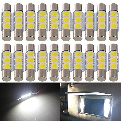 AMAZENAR 20-Pack 50 Lumen Weiß 28MM (1,1