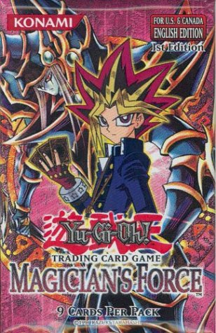 Yu-Gi-Oh! TCG, Magicians Force Booster Blister Pack Carton