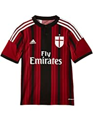 adidas AC Milan Home Maillot Homme Black/Victory Red S04/Running