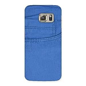 Men Royal Blue Back Case Cover for Samsung Galaxy S6 Edge Plus
