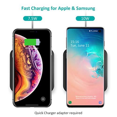 94ba3f98480 Cargador Inalámbrico Rápido CHOETECH Fast Wireless Charger 7.5W Qi Cargador  Compatible con iPhone X/