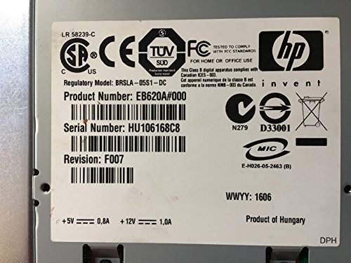 HP Hewlett Packard EB620A EB620A#000 36/72GB Bandlaufwerk SCSI 68p schwarz - 2