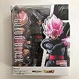Figura de acción de PVC Modelo de colección móvil/Zamasu Joint Mobility/S H Figuarts SHF Dragon Ball Z Son Goku Rose Black-14cm