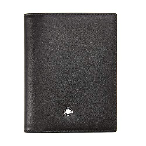 Montblanc My Nightflight Porta Carte di Credito, Unisex adulto, Nero (Nero), Unica