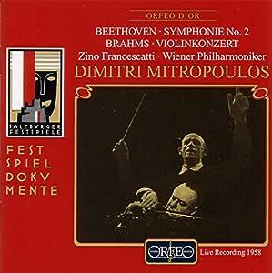 Mitropoulos dirigiert Beethoven und Brahms (Aufnahme Live Salzburger Festspiele 26.08.1958)