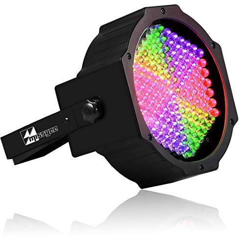 Missyee®Up Beleuchtung Voll RGB 127 Farbmischung Projektor Licht Wash Light Dj Bühne Licht für Zuhause, Club, Zeremonie, Festivals, Party, Hochzeit, Bar, Club, Show Weihnachtsdekoration (1 Pack) (Led-licht-show-projektor)