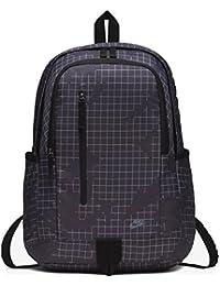 65b378de1e9f Nike 15 Ltrs Gridiron Black Ashen Slate Casual Backpack (BA5533-081)