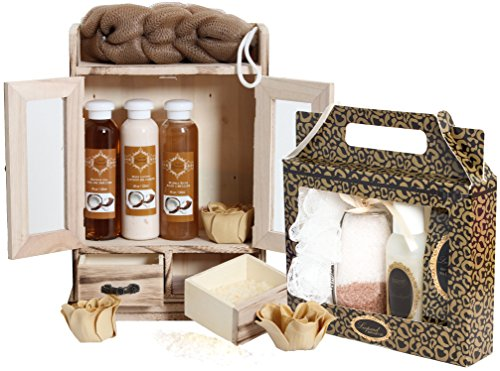 "BRUBAKER Beauty Geschenkset ""Kokosnuss & Vanilla"" - Wellness Set"