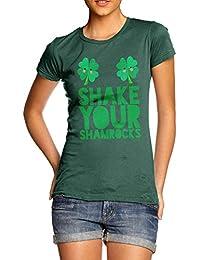 TWISTED ENVY Shake Your Shamrocks Women's Funny T-Shirt