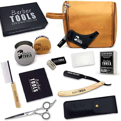 ✮ BARBER TOOLS ✮ Kit/Set/Estuche arreglo cuidado