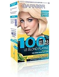 Garnier - 100% Ultra Blond - La decoloración sin amoniaco - La rubia platino