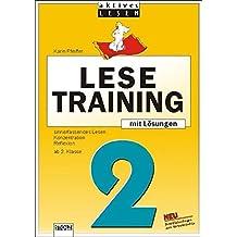 Lustiges Lesetraining, neue Rechtschreibung, Ab 2. Klasse