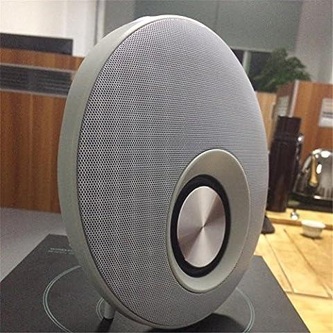 Mini Bluetooth Lautsprecher Portable Wireless Lautsprecher Sound System 3D Stereo Musik Surround Unterstützung TF USB , (Cabinet Grille)
