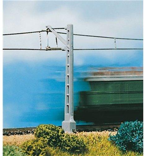 8000 - Vollmer N - Oberleitung - Mast mit kurzem Ausleger
