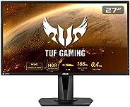 "ASUS VG27BQ TUF Gaming - Monitor de Gaming de 27"" FHD (1920x1080, 1 ms, 165 Hz, tecnología GameFast Input"