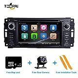 Autoradio, ZLTOOPAI pour unité Principale de la Radio GPS à écran Tactile 6,2 Pouces pour Jeep Wrangler JK Dodge Ram...